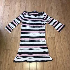 Blumarine Size Medium (44) Striped Dress